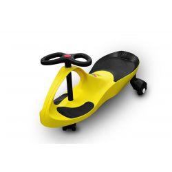 RIRICAR Yellow - swing car for kids with silent PU wheels